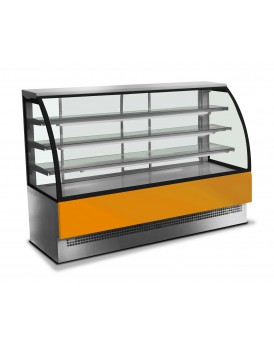 Sheffcat EVOLUX 120-SS Stainless Steel Patisserie Counter