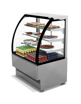 Sheffcat EVO120-SS Stainless Steel Patisserie Counter, 1.2m / 1.88m² Deck